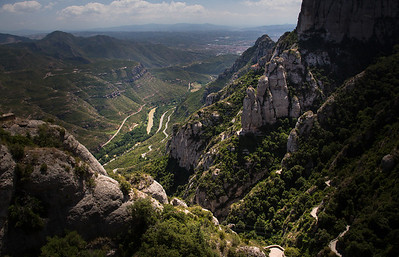 a view from Montserrat