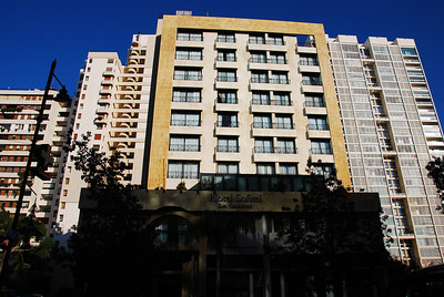 Our hotel in Archrafiye, East Beirut.