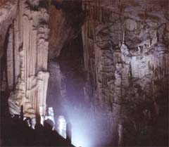 Interior of upper chamber at Jeita (photography is banned in the caves so this photo is from www.middleast.com website)