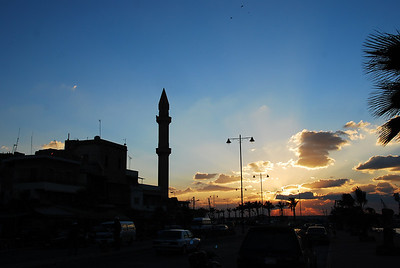 Another fabulous photo of the sunset at Sidon.