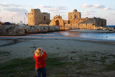 Crusader sea castle at Sidon.
