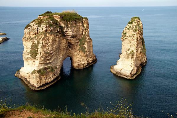 Pigeon Rock Beirut