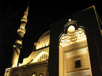 The Rafik Hariri Mosque in Saida, Lebanon