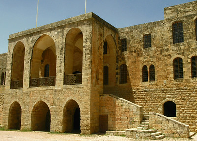 Main entrance into Beiteddine Palace, jebal Lebnan, Lebanon