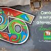Cancer is not Just a Horoscope, mural, Hamra, Beirut, Lebanon