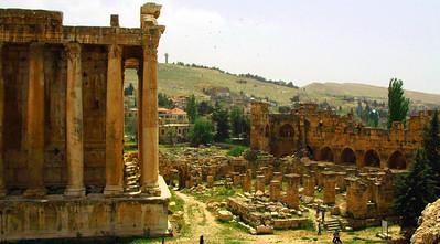 Roman ruins, Baalbek, Lebanon
