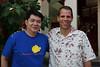 Kasidith Snidvongs of Kasawari Lembeh Resort with Danny Charleton of Lembeh Resort