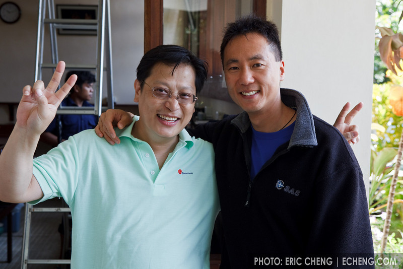 David Cheung of Scubacam and Tony Wu