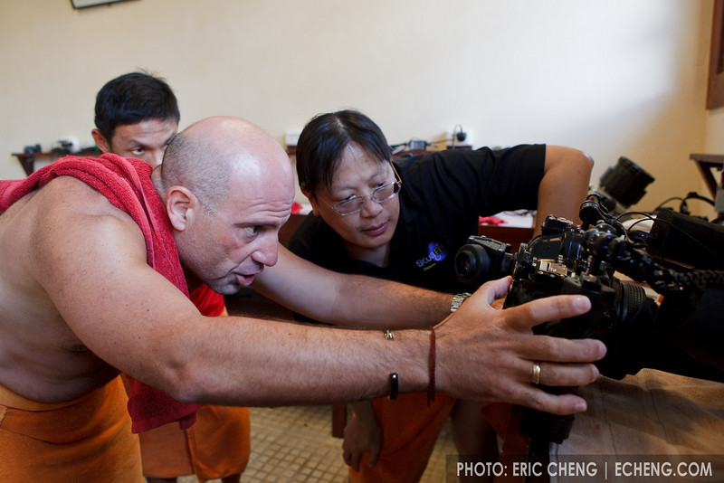 Julian Cohen and David Cheung geek out over insect eye photos