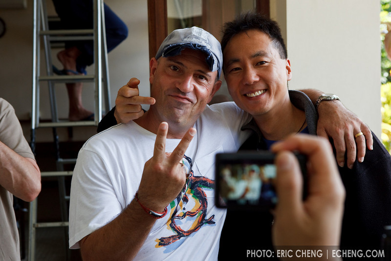 Julian Cohen and Tony Wu give cameras respect