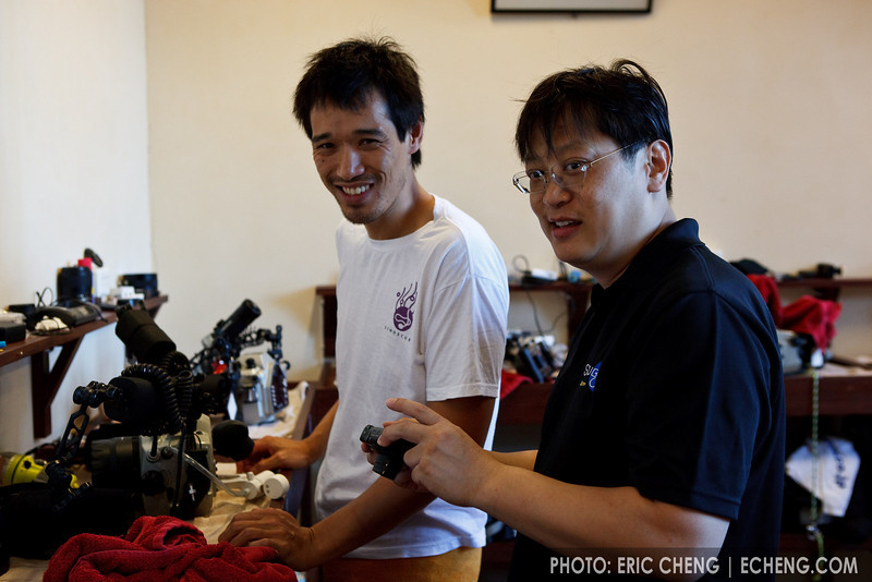 Colin Lee and David Cheung (Scubacam)