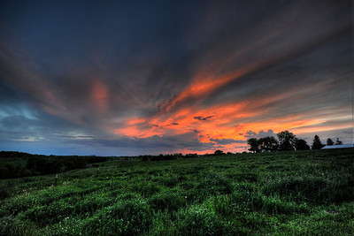 HDR image from Lena, Il, located in Northwest Illinois.