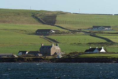 Buildings on Shetland