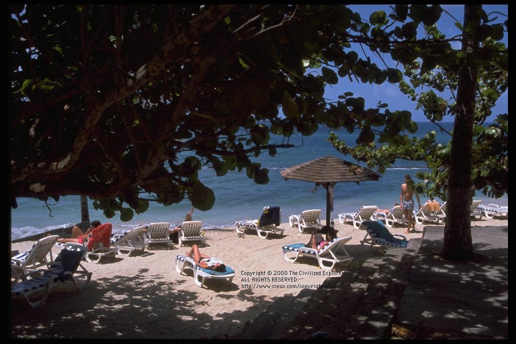 A small beach