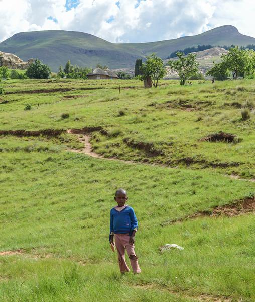 Basotho Boy, Lesotho