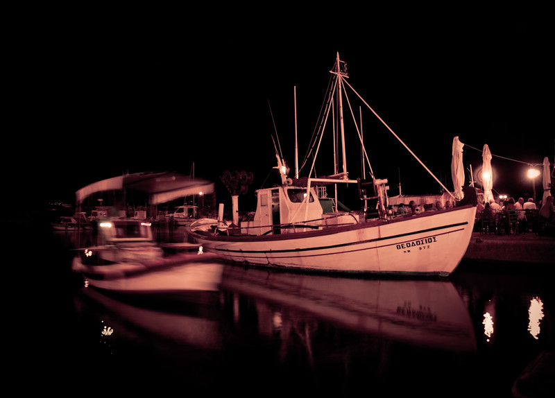 Molyvos Port (Mithymna), Lesvos, Greece
