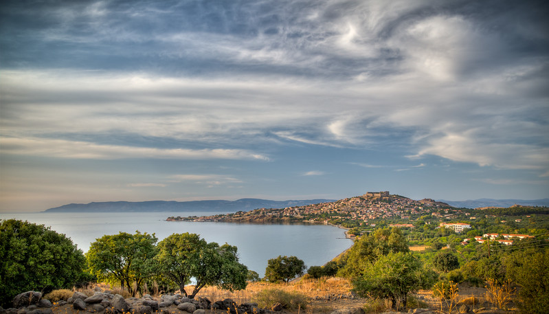 Molyvos (Mithymna), Lesvos, Greece