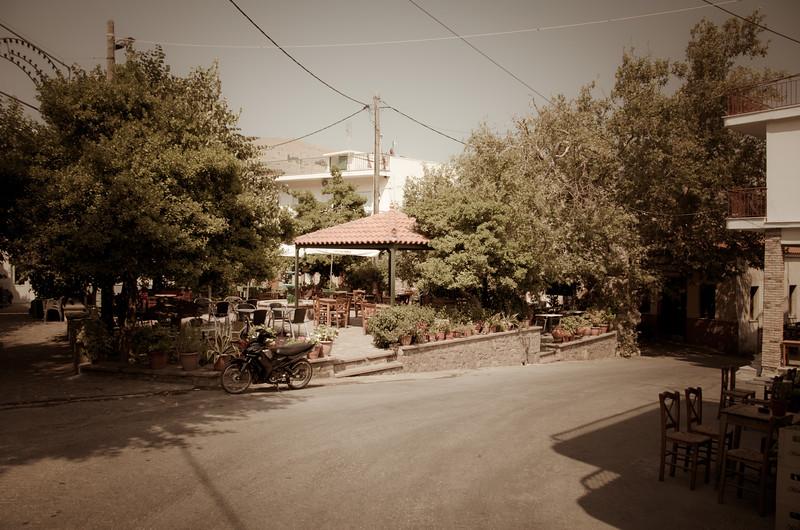 Agra, Lesvos, Greece