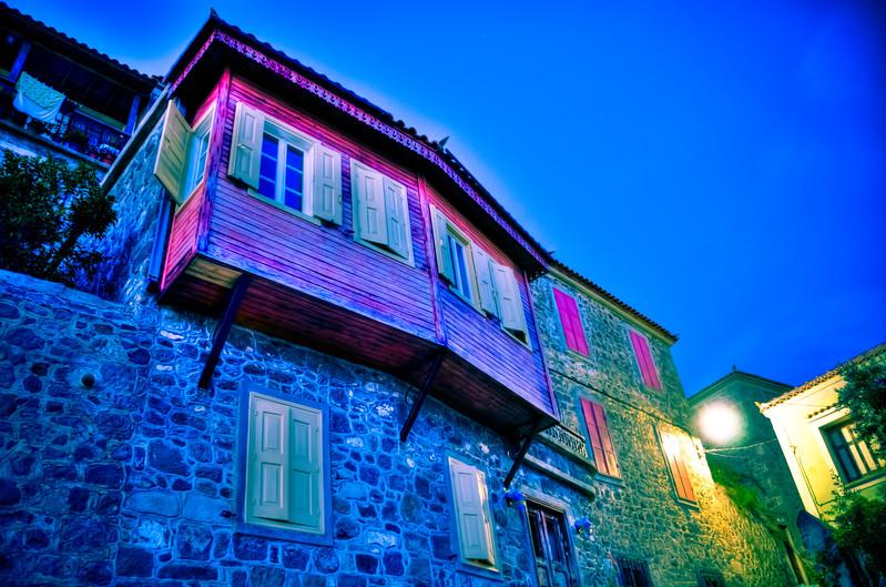 Molyvos (Mithymna), Lesvos, Greece
