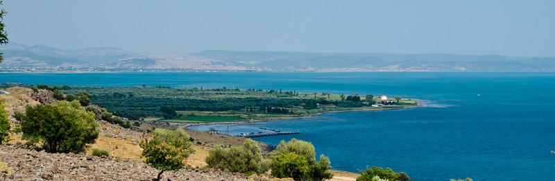 Bay of Kalloni, Lesvos, Greece