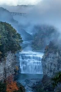 Middle Falls Fog