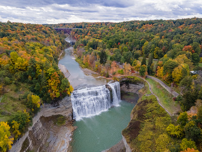 Middle Falls Aerial
