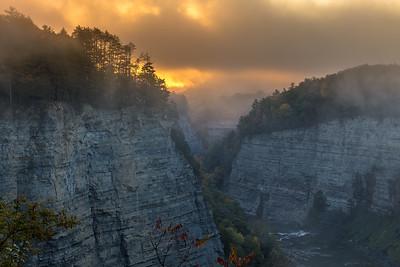 Foggy Sunrise horizontal