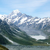 Mt. Cook is the highest mountain in New Zealand