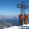 The summit of Mt. Marmolada : Dolomite, north Italy