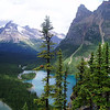 Lake O'Hara is the most developed and popular hiking destination in Yoho National Park(Canada)