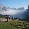To the travenanzes saddle : Dolomite