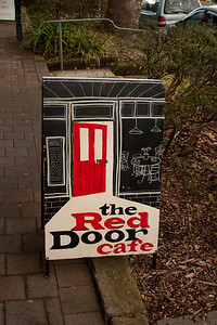 Red Door Cafe, Leura Mall. Nice Breakfast
