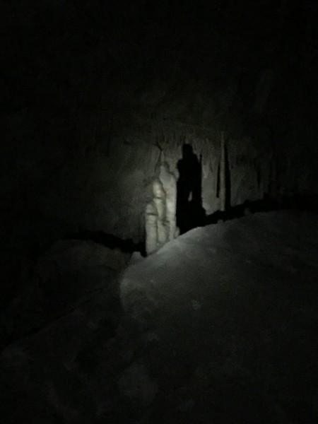 Shadow man awaits