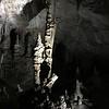 Dramatic stalagmites