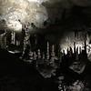 Broken stalagmites