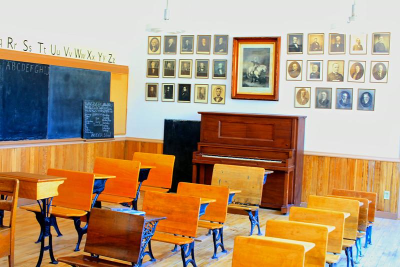 Classroom, Dillon, Montana