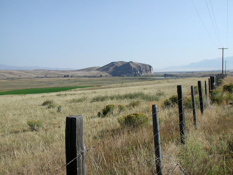 Beaverhead Rock - Here Sacajawea began to recognize here former home turf.  A few miles further, at what is now Clark Reservoir, she met her brother, by then Chief of their band of Shoshone.