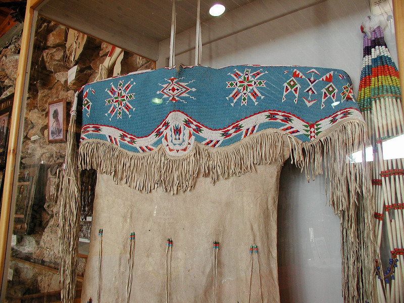 The best reason for visiting the Crazy Horse Memorial is the Native American Crafts museum in the Visitors Center, one of the best we have seen.