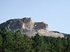 The unfinished Crazy Horse Memorial