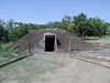 There are many small parks and museums along the route reconstructing or preserving cultural features that L&C saw along the way.  This is a reconstructed mound dwelling at Arikara Village
