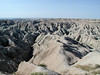 Aptly named, Badlands National Park - from here it was I 90 back to Vermont
