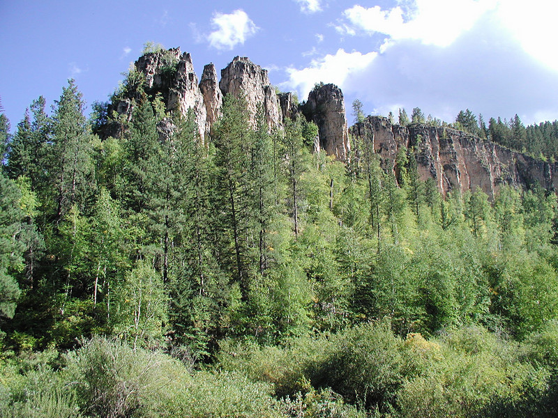 Spearfish Canyon - the foothills to the Black Hills