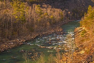 Maury River Rapids