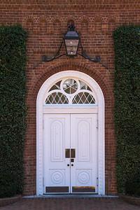 Lee Chapel Entrance