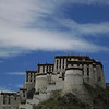 Potala palace from the side.