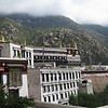 There are about 300 monks at Drepung Monastery now.