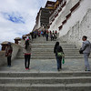 Climbing the steps of Potala