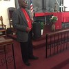 Rev. Jamah Fololatea, associate pastor, St Peter's Lutheran Church, Monrovia