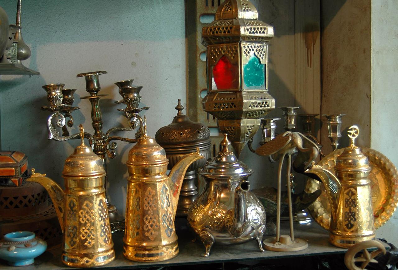 Tripoli: Medina, metal worker's shop