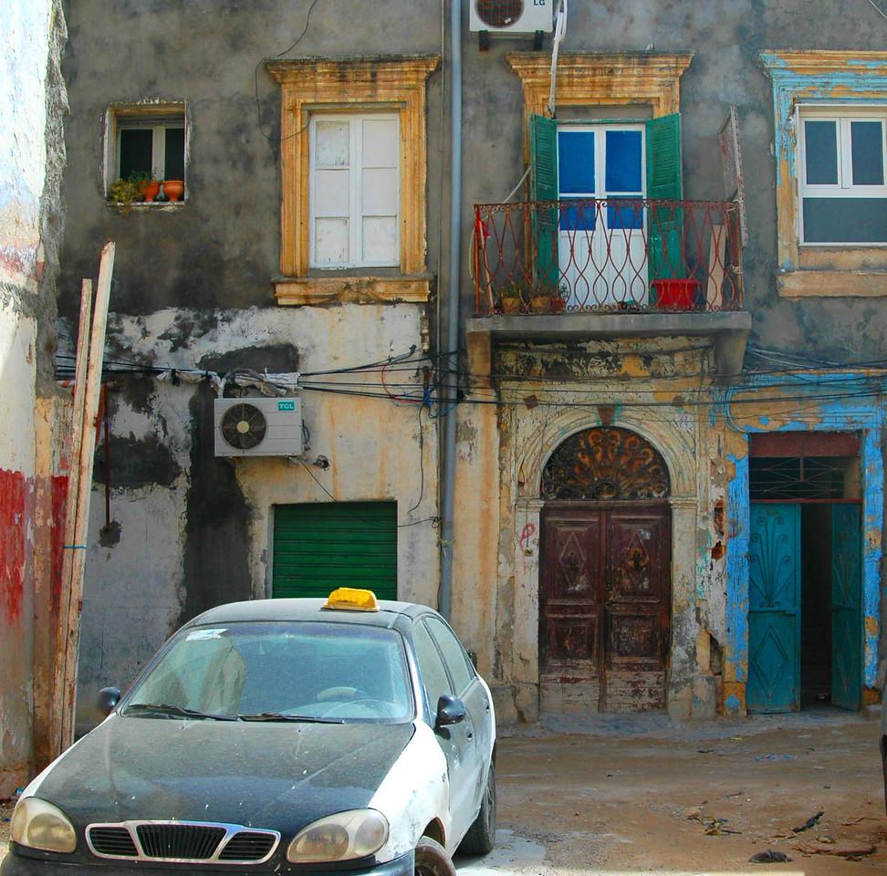 Tripoli: medina streetscape